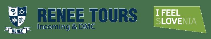 Logotip Renee Tours in I feel Slovenia